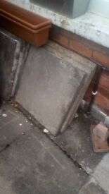 Paving slabs free to collect