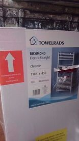 Brand New Richmond Electric Towel Rail and Electric Element Kit 300W