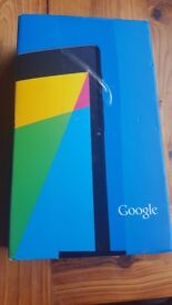 google nexus 7 16 gb new