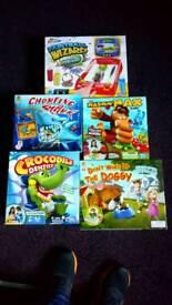 5 childrens games bundle