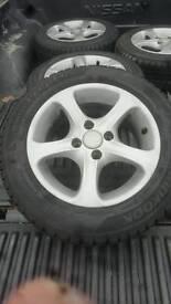 """Alloy wheels 14"""" 175 65 14"""