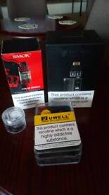 Wismec vape bundle, x3 tanks