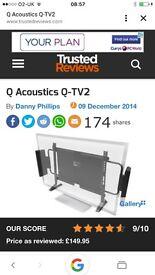 Q acoustics tv 2