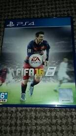 FIFA 16 game for PS4 (used)