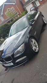BMW 730D M Sport Black on Cream leather best combo!!.