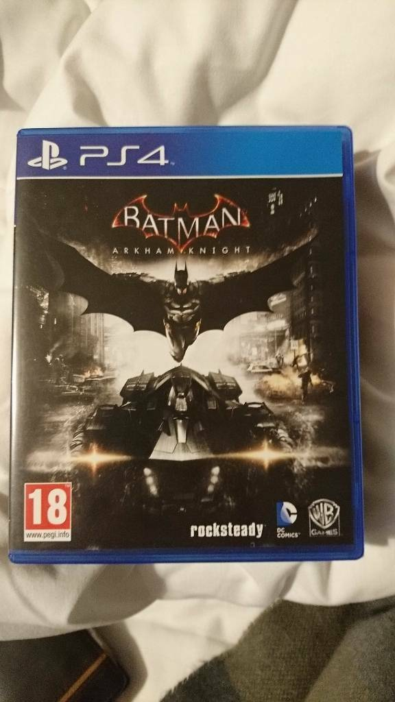 PS4 Game, Batman Arkham Knight