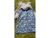 Girls short sleeve blouses
