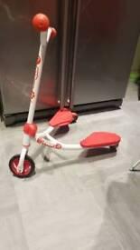 Y fliker j2 v scooter red