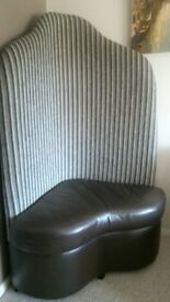 Feature corner chair