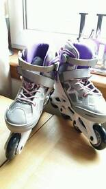 BNWT OXELO INLINE ROLLER BOOTS
