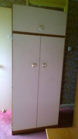 Matching Wardrobe, Dresser and Chest of Drawers