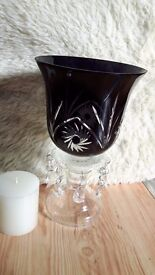 Candle holder with brand new candle