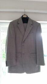 Pale Grey Daks Suit