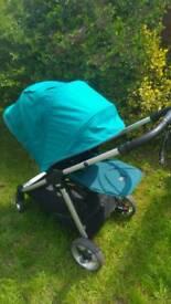 Mamas and Papas Armadillo Flip XT pram pushchair in Teal