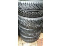 BRAND NEW 4 X 225 40 18 TYRES AUDI MERC BMW FORD ETC FOR ALLOY WHEELS