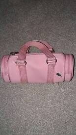 Genuine Lacoste bag in pink