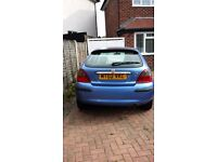 Rover 25 low milage, drives beautifully and well looked after
