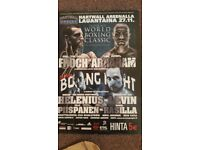 Sports memorabillia (boxing)