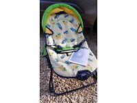 Travel baby vibrating seat