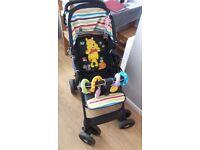 Winnie the pooh trio shopper travel system