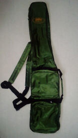 Brand New Lineaeffe 110cm Rod Bag for two 6ft or 7ft Rods and your Tackle