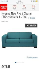 Sofa bed double AND FREE single sofa BARGAIN!!