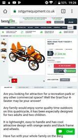 Berg gran tour off road deluxe go kart