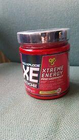 Preworkout supplement extreme energy