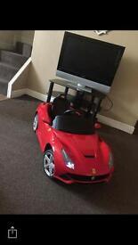 Ferrari electric car perfect working