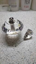Crystal Perfume Canter
