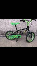 Kids Apollo Claws 14inch bike