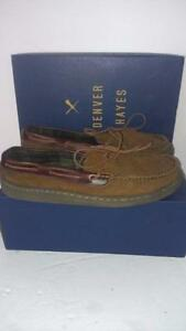 NEW SIZE 11 Men's Handsewn SlippersSuede ,warmth. Flannel-Lined, Premium full-grain leather