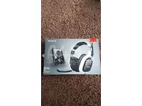 Astro a40 +mixamp pro gaming headset xbox/pc/ps