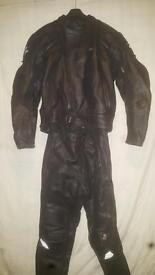 Full set motorcycle leathers