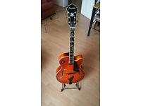 Farida FA17-SP-FP Jazz Guitar Honey Sunburst