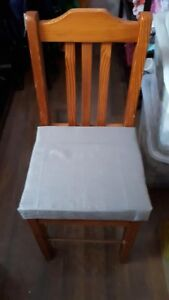 4 smaller sturdy chairs all for $20