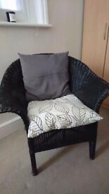 Good condition wicker chair