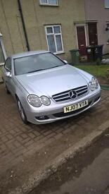Mercedes Benz CLK 220 Diesel, Auto,Bluetooth, 2007 Reg in Excellent Condition (No Accident)