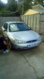 Ford mondeo 1.8, 2000, 1yr long MOT,