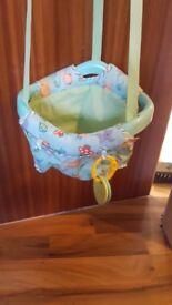 Baby bouncy door swing