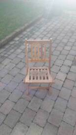 Child's deck chair