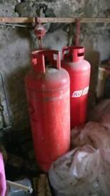 Flogas 36kg propane bottles
