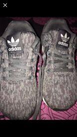 Adidas grey flux size 11