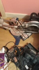 Jonier tools saws & sander ect