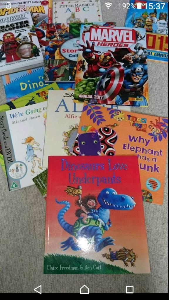 Kids books / annuals