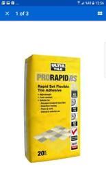 Rapid tile adhesive £9.99 each !!!!