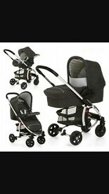 travel system used but in good condition