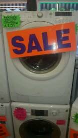 HOOVER 6+5KG 1400 SPIN WASHER DRYER IN WHITE