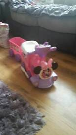 Mini mouse ride on train