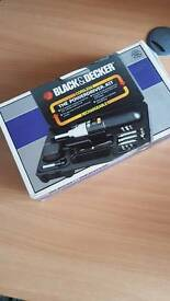 Black & Deck PowerDriver Boxed